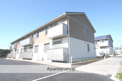 栃木県宇都宮市、宇都宮駅JRバスバス35分刈沼下車後徒歩6分の新築 2階建の賃貸アパート