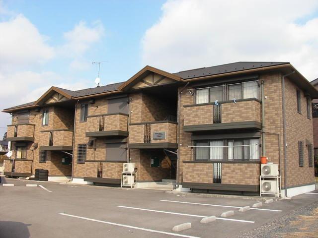 栃木県宇都宮市の築15年 2階建の賃貸アパート