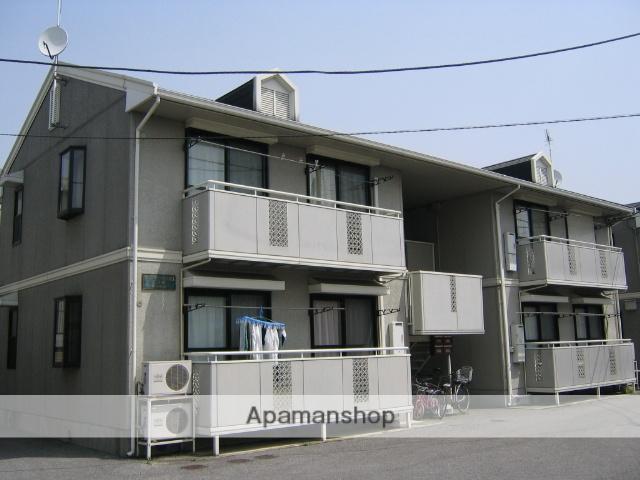 栃木県宇都宮市の築23年 2階建の賃貸アパート
