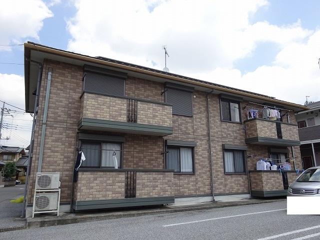栃木県宇都宮市、宇都宮駅関東バスバス20分三の沢下車後徒歩4分の築14年 2階建の賃貸アパート