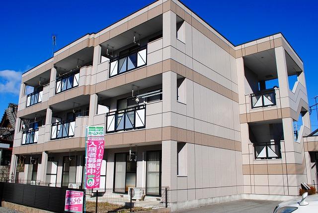 栃木県宇都宮市、宇都宮駅徒歩14分の築13年 3階建の賃貸マンション