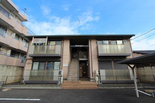 栃木県宇都宮市、南宇都宮駅徒歩8分の築14年 2階建の賃貸アパート