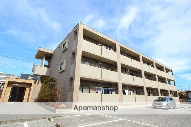 栃木県宇都宮市の築13年 3階建の賃貸マンション
