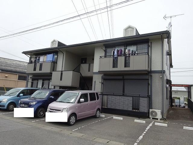 栃木県宇都宮市の築19年 2階建の賃貸アパート
