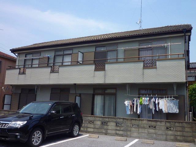 栃木県宇都宮市、南宇都宮駅徒歩7分の築23年 2階建の賃貸アパート