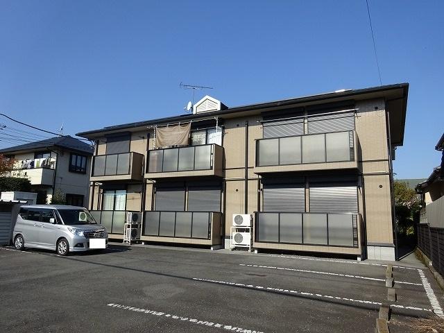 栃木県宇都宮市、宇都宮駅関東バスバス20分三の沢下車後徒歩3分の築18年 2階建の賃貸アパート