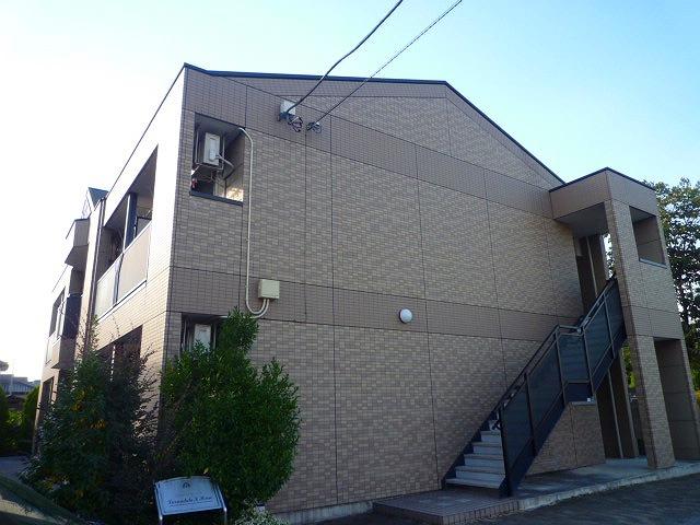 栃木県宇都宮市、宇都宮駅関東バスバス20分滝谷町下車後徒歩3分の築10年 2階建の賃貸アパート
