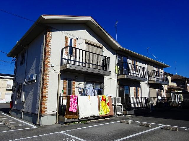 栃木県宇都宮市、鶴田駅徒歩10分の築10年 2階建の賃貸アパート
