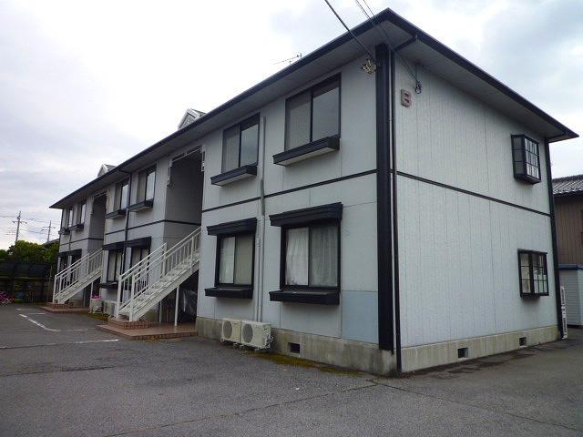 栃木県宇都宮市、宇都宮駅バス20分東中丸下車後徒歩10分の築22年 2階建の賃貸アパート