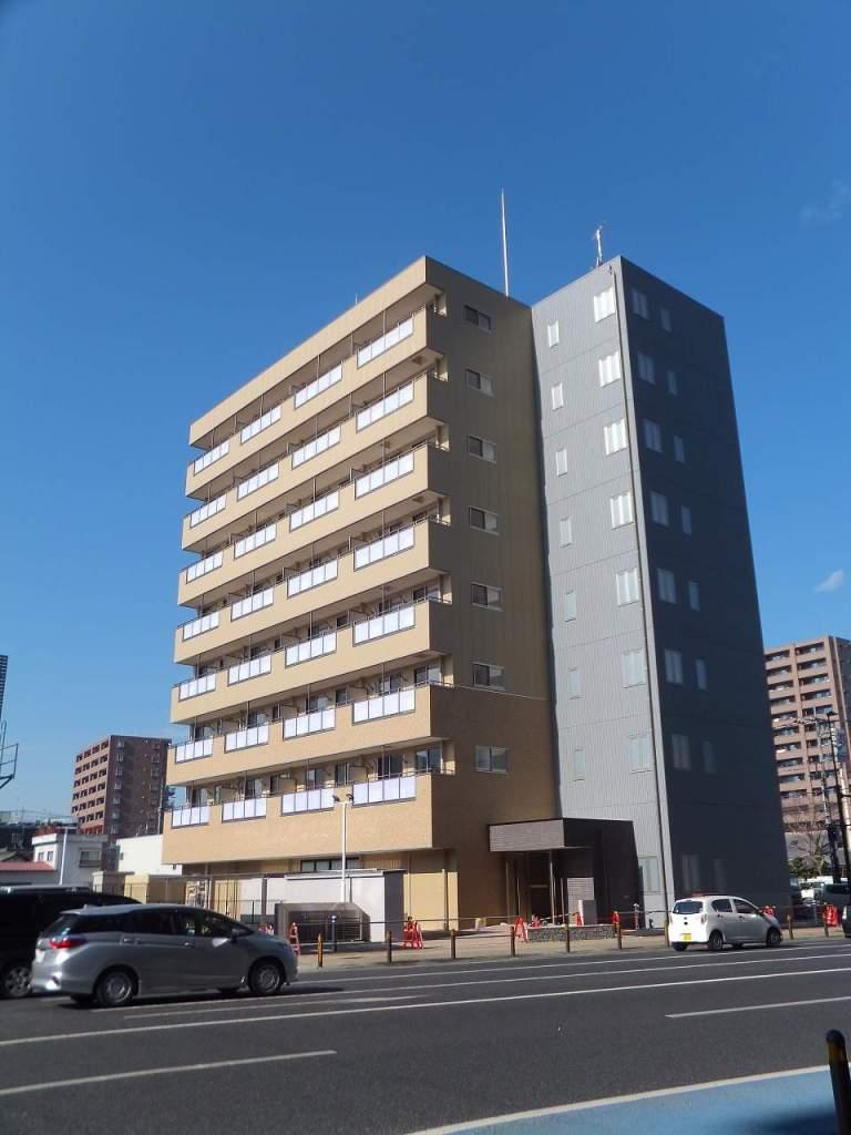 栃木県宇都宮市、宇都宮駅徒歩10分の新築 8階建の賃貸マンション