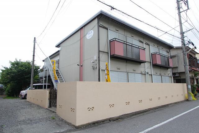 栃木県宇都宮市、東武宇都宮駅徒歩11分の築32年 2階建の賃貸アパート