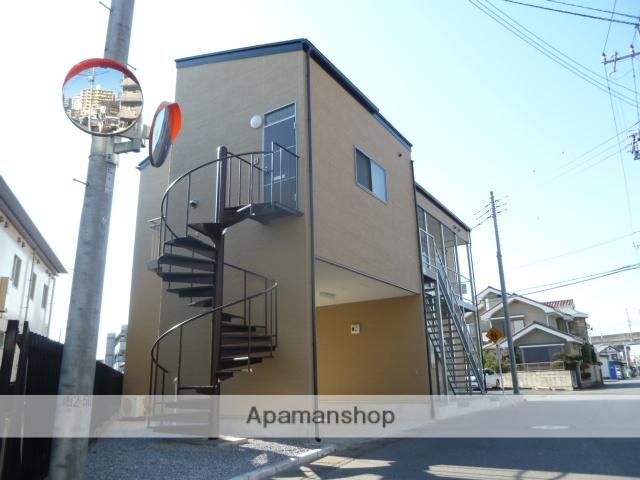 栃木県宇都宮市、宇都宮駅徒歩11分の築5年 2階建の賃貸アパート