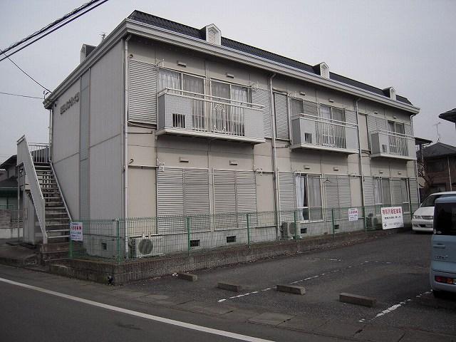 栃木県宇都宮市、鶴田駅徒歩10分の築23年 2階建の賃貸アパート