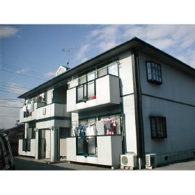 栃木県宇都宮市の築26年 2階建の賃貸アパート