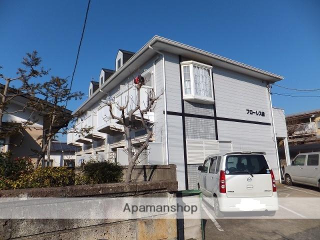 栃木県宇都宮市、雀宮駅バス47分峰1北下車後徒歩7分の築24年 2階建の賃貸アパート