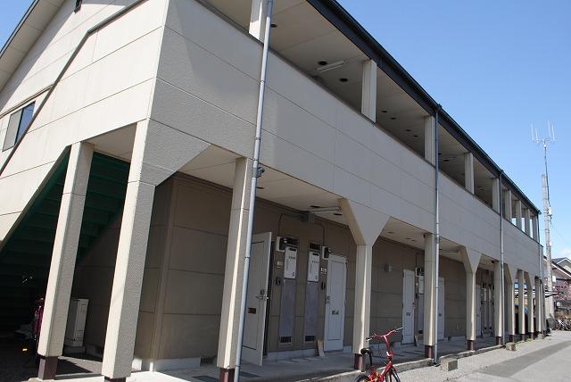 栃木県宇都宮市、雀宮駅バス60分東峰町下車後徒歩5分の築19年 2階建の賃貸アパート