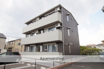 栃木県宇都宮市の築1年 3階建の賃貸アパート