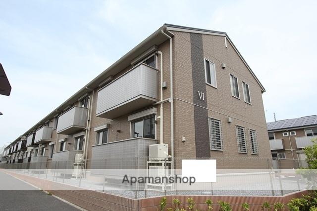 栃木県宇都宮市、宇都宮駅JRバスバス57分壁梨下車後徒歩7分の新築 2階建の賃貸アパート