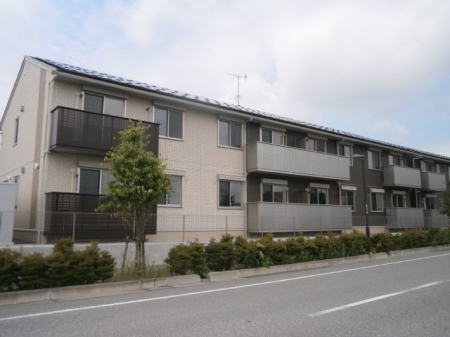 栃木県宇都宮市、宇都宮駅JRバス関東バス51分野高谷下車後徒歩10分の新築 2階建の賃貸アパート