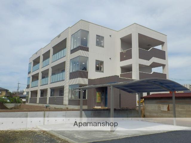 栃木県宇都宮市、宇都宮駅徒歩18分の新築 3階建の賃貸マンション