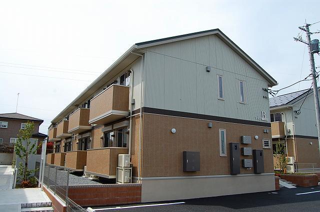 栃木県宇都宮市の新築 2階建の賃貸アパート