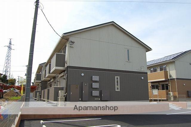 栃木県宇都宮市、宇都宮駅関東バスバス22分雷電神社前下車後徒歩5分の新築 2階建の賃貸アパート
