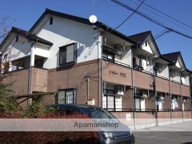 栃木県宇都宮市、雀宮駅関東バスバス46分宇大前下車後徒歩4分の築20年 2階建の賃貸アパート