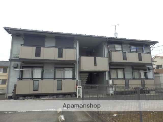 栃木県宇都宮市、雀宮駅関東バスバス55分平松本町下車後徒歩8分の築18年 2階建の賃貸アパート