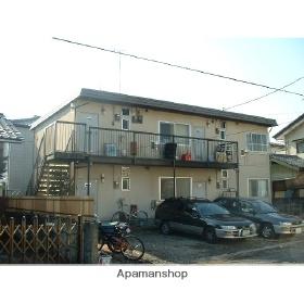 栃木県宇都宮市、雀宮駅バス52分平松本町下車後徒歩8分の築35年 2階建の賃貸アパート