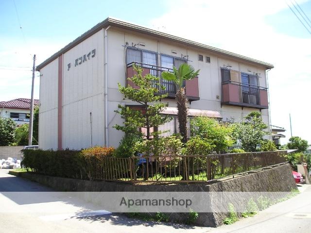 栃木県宇都宮市、雀宮駅バス55分工学部前下車後徒歩5分の築31年 2階建の賃貸アパート