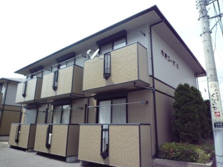 栃木県宇都宮市、宇都宮駅徒歩10分の築16年 2階建の賃貸アパート
