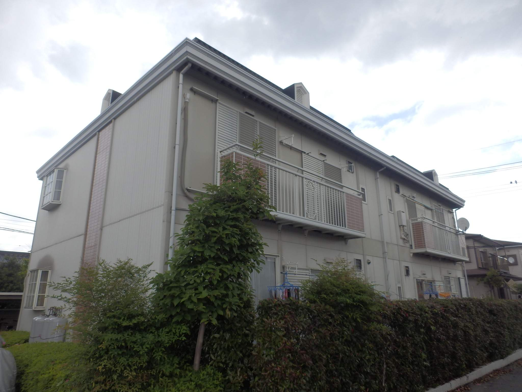 栃木県宇都宮市の築28年 2階建の賃貸アパート