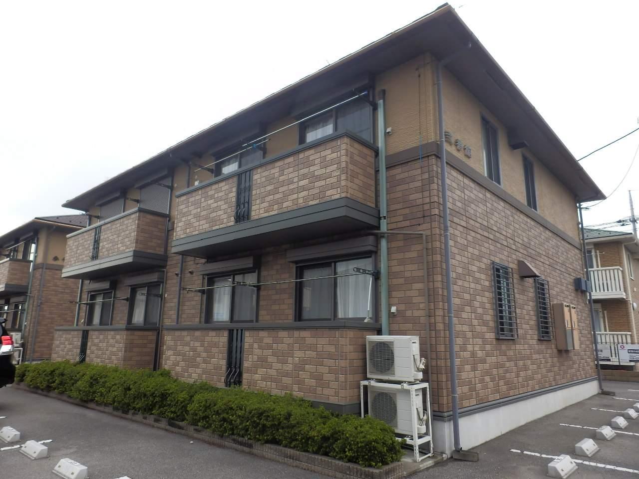 栃木県宇都宮市、雀宮駅東野バスバス60分越戸下車後徒歩10分の築15年 2階建の賃貸アパート