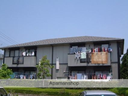 栃木県宇都宮市、宇都宮駅徒歩20分の築23年 2階建の賃貸アパート