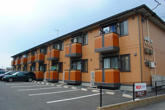 栃木県宇都宮市、西川田駅徒歩9分の築10年 2階建の賃貸アパート