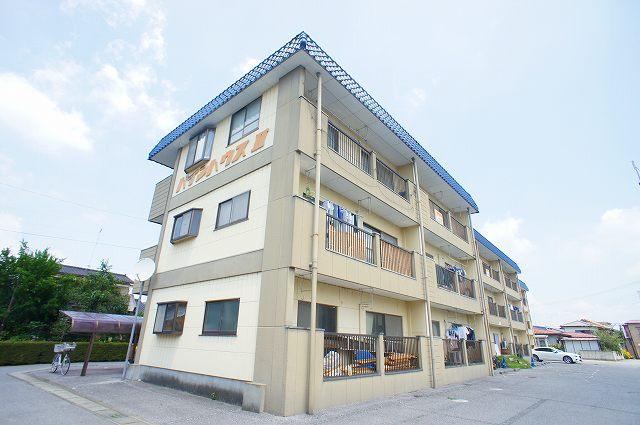 栃木県宇都宮市、雀宮駅徒歩5分の築27年 3階建の賃貸マンション