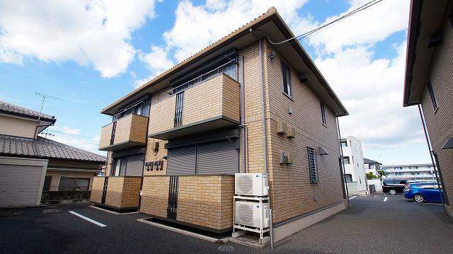 栃木県宇都宮市、雀宮駅徒歩20分の築10年 2階建の賃貸アパート