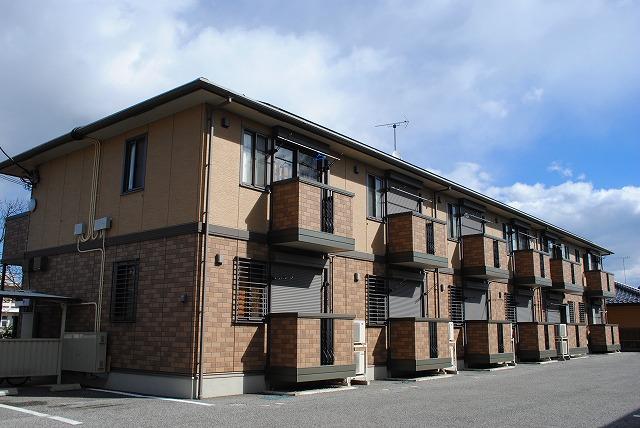 栃木県宇都宮市、雀宮駅徒歩15分の築10年 2階建の賃貸アパート