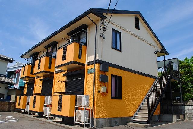 栃木県宇都宮市、宇都宮駅関東バスバス30分双葉下車後徒歩3分の築19年 2階建の賃貸アパート