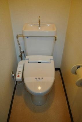リバティー高橋[1K/25.92m2]のトイレ