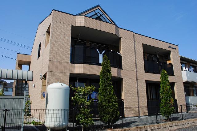 栃木県宇都宮市、宇都宮駅関東バスバス25分中島下車後徒歩15分の築8年 2階建の賃貸アパート