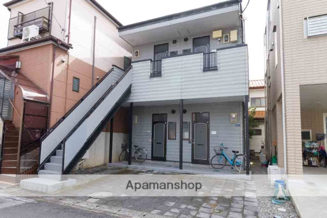 栃木県宇都宮市、江曽島駅徒歩3分の築20年 2階建の賃貸アパート