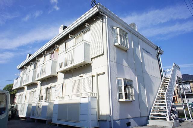 栃木県宇都宮市、鶴田駅徒歩22分の築24年 2階建の賃貸アパート