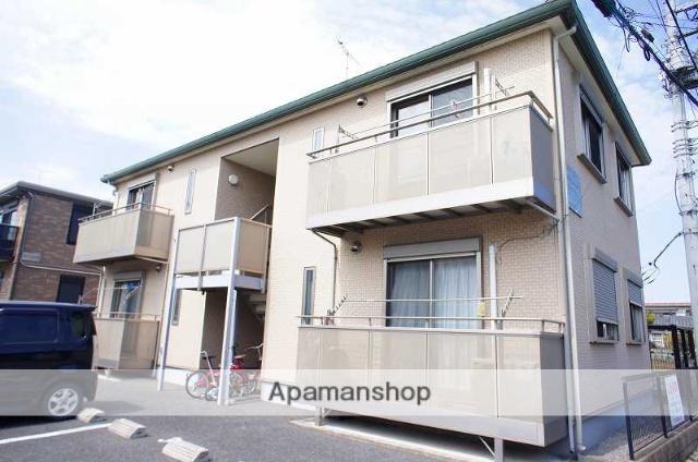栃木県宇都宮市、雀宮駅徒歩30分の築10年 2階建の賃貸アパート