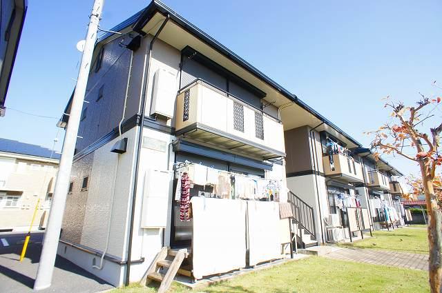 栃木県宇都宮市、雀宮駅徒歩20分の築23年 2階建の賃貸アパート