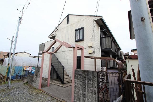 栃木県宇都宮市、宇都宮駅徒歩15分の築20年 2階建の賃貸アパート