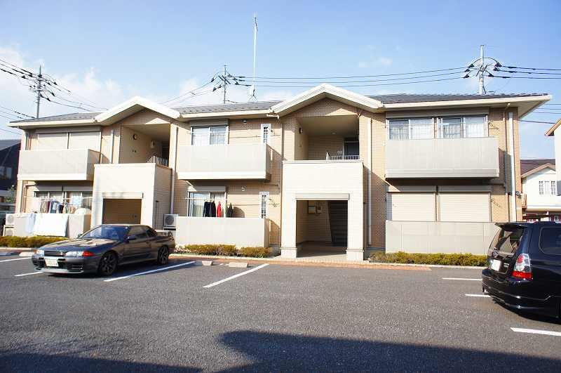栃木県宇都宮市、雀宮駅徒歩60分の築10年 2階建の賃貸アパート