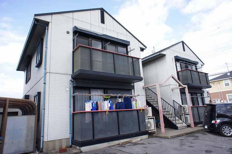 栃木県宇都宮市、西川田駅徒歩11分の築22年 2階建の賃貸アパート