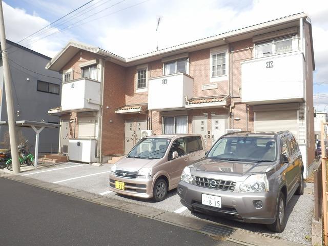 栃木県宇都宮市、雀宮駅バス45分宿郷東下車後徒歩4分の築10年 2階建の賃貸アパート