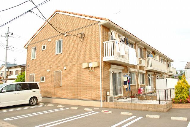 栃木県宇都宮市、雀宮駅徒歩20分の築8年 2階建の賃貸アパート